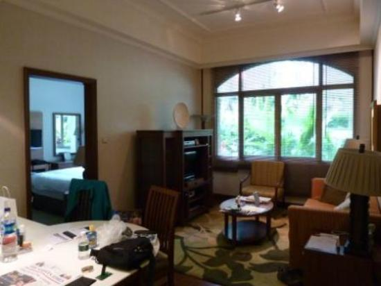 Treetops Executive Residences Singapore: Lounge in 2 Bed Superior
