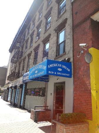 American Dream Hostel: Fachada do Hostel