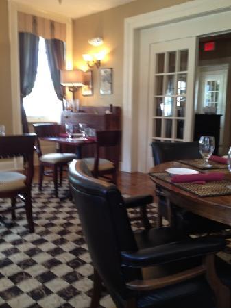 The Brick Restaurant & Tavern: dining room, The Brick Hotel