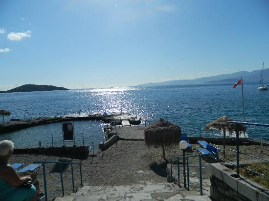 Elounda Breeze Resort: view from the so called beach