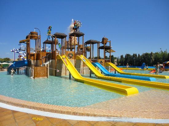 Sirenis Hotel Club Aura: zona infantil parque acuatico