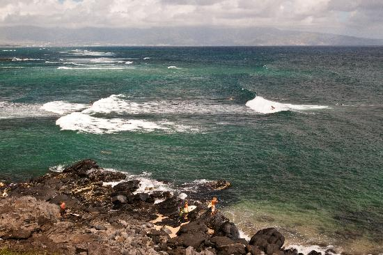 Paia, Hawái: Surf in the morning