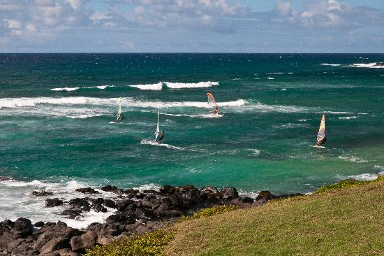 Paia, Hawái: Wind surf in the afternoon