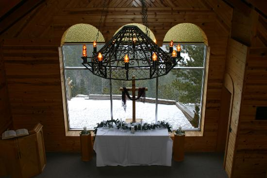 Peaceful Valley Resort and Conference Center: View from the Chapel Balcony