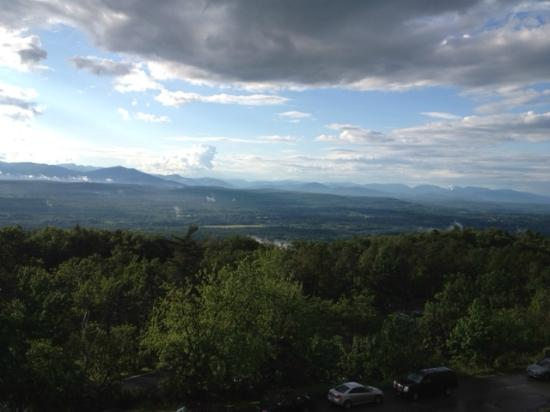 New Paltz, NY: Stunning views from our room