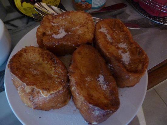 Mas de Jouas: Danny's french toast