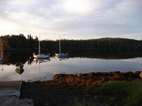 Bayside, كندا: Shad Bay, a sailors paradise