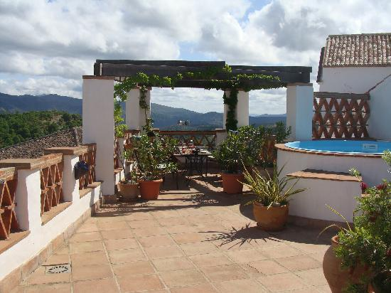 Hotel Los Castanos: View from the hotel's roof-top terrace