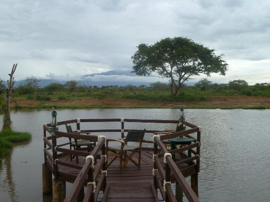 Voyager Ziwani, Tsavo West: viwing platform