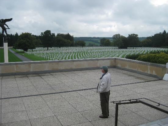 Henri-Chapelle American Cemetery-View from entrance