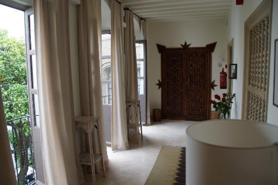 Balcon de Cordoba: acces chambres