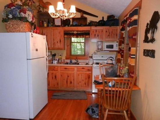 Old Man's Haven: kitchen