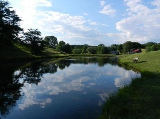 Old Man's Haven: the beautiful pond