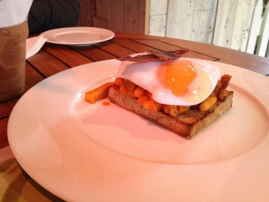 The Secret Garden: beans on toast £20 plus