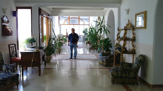 Hotel San Michele: Hall de entrada.