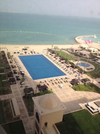 The St. Regis Doha: view from our room