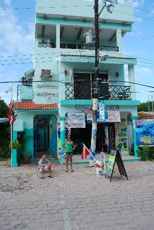 Front of Sea Hawk Dive Shop & Rooms