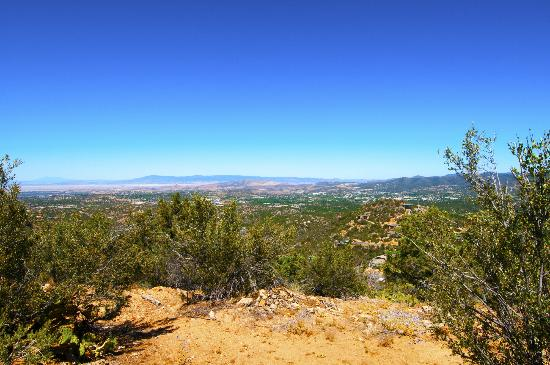 Prescott National Forest: Spur trail, about 100 yards long, to a scenic overlook of Prescott.