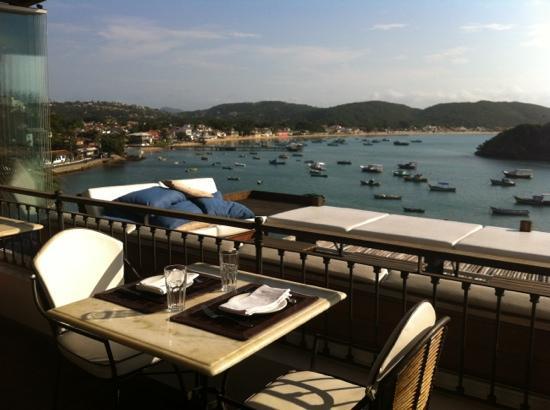 Rocka Beach Lounge & Restaurant: view from table