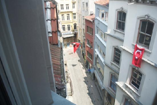 Galata Tower VIP Apartment Suites: view from window