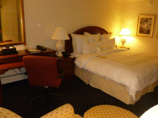 BWI Airport Marriott: Bed