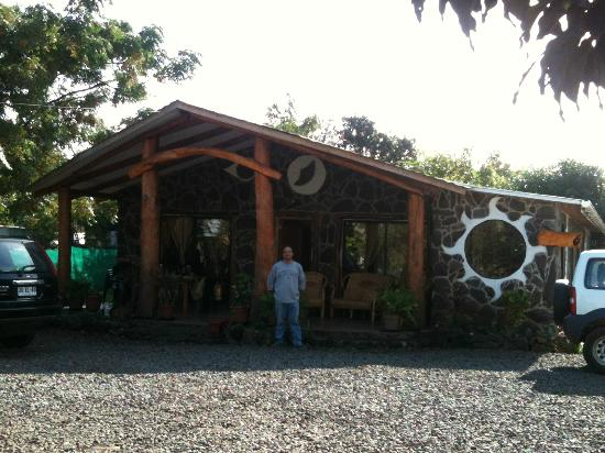 Hotel y Cabañas Tea Nui: Recepción