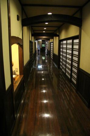 Ryokan Sanga: Hallway