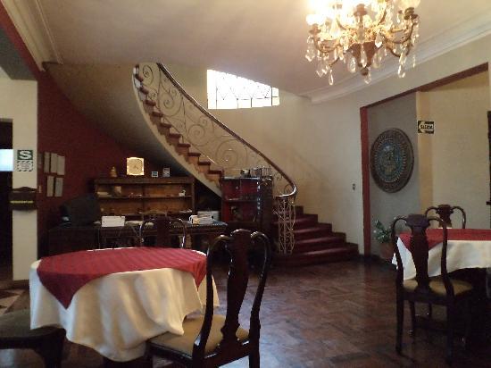 Hotel Sipan: comedor