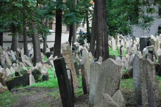 Jewish Museum in Prague: old Jewish cemetery