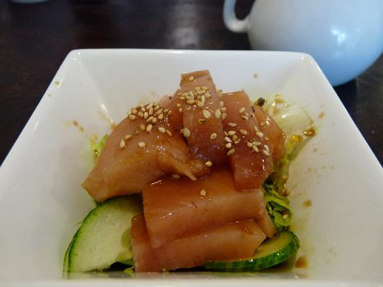 Kozo Cafe: tuna salad