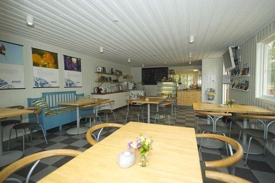 Grano Beckasin: cafe och reception