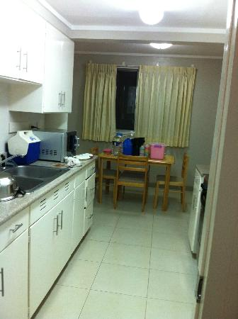 Vacation Villas at Subic Homes: kitchen with dining table for maids