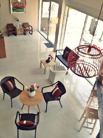 Link Corner Hostel Bangkok: Lobby