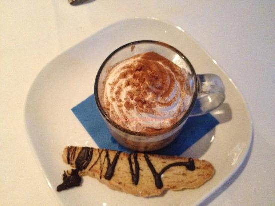 Table 26: Cappuccino and Biscotti