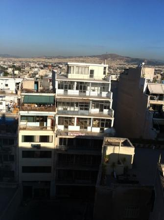 Arion Athens Hotel: The room view!