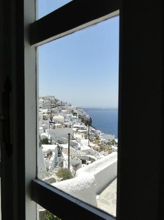 Nomikos Villas: From the window