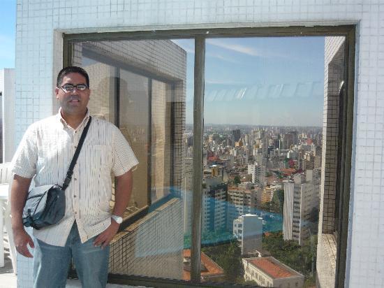 Paulista Wall Street Suites: Vista desde la azotea