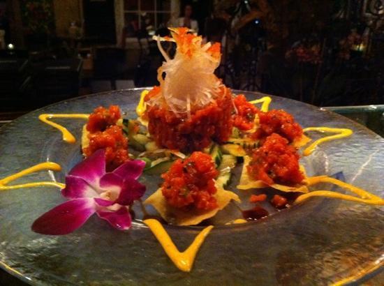Too Bizaare: spicy tuna tartar