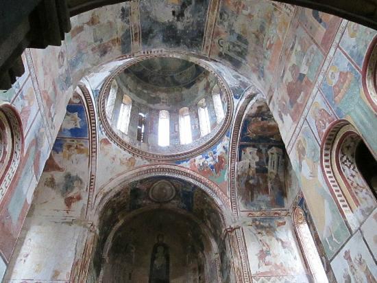 Bagrati Cathedral and Gelati Monastery : Gelati Fresken