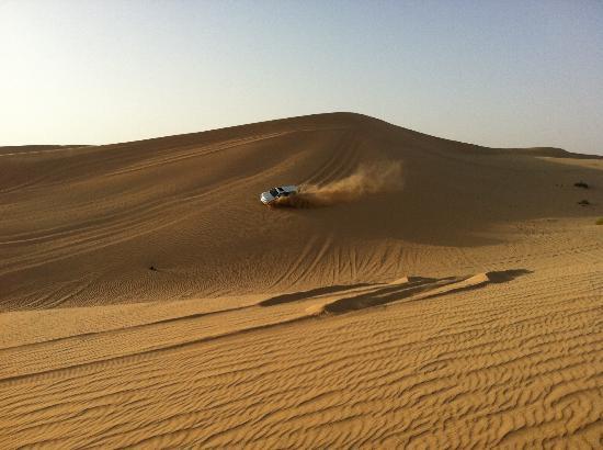 Emirates Tours and Safaris: Dune Bashing