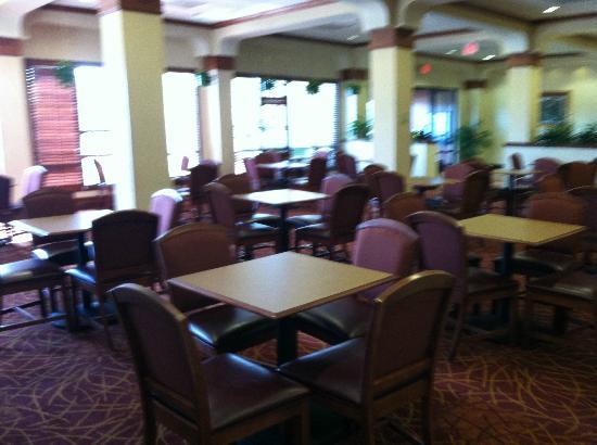 Hampton Inn Salt Lake City-Downtown: Breakfast Seating