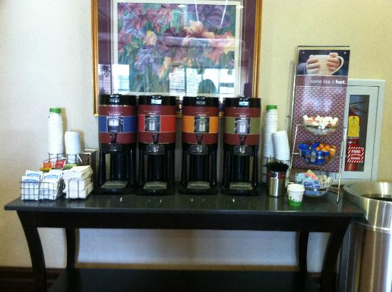 Hampton Inn Salt Lake City-Downtown: Complimentary Coffee All Day