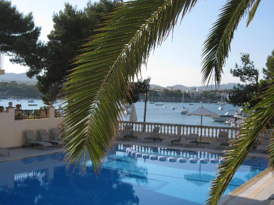 Porto Colom, Spain: Overlooking the Club Elite Pool