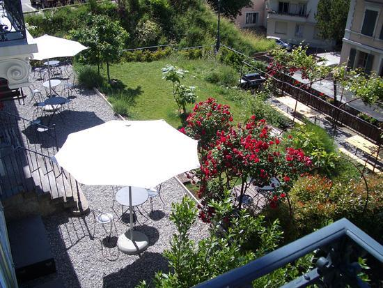 Lausanne Guesthouse & Backpacker: Garden