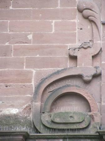 St. Maximin: detail front