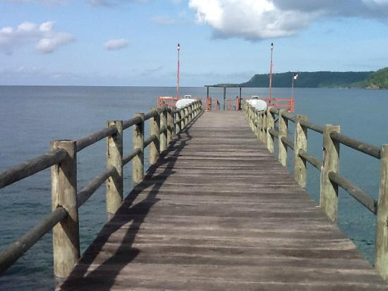 Principe, Santo Tomé y Príncipe: Bom Bom Island Resort