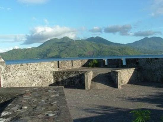 Ternate, Indonesia: The view from the fort