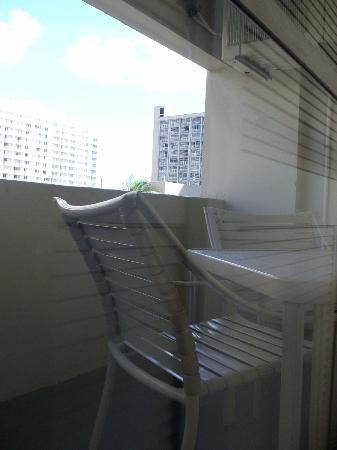 The Equus Hotel: Balcony