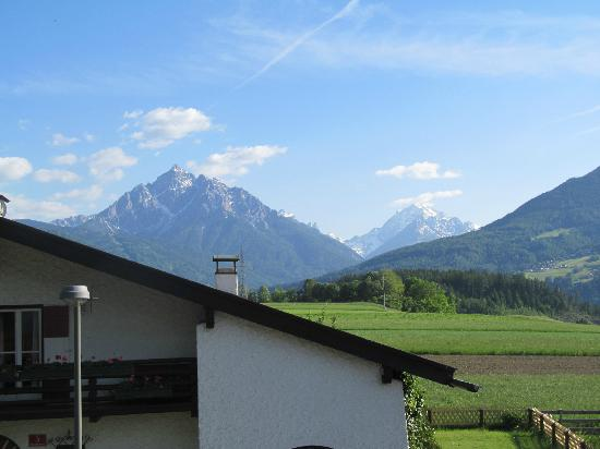 Sonnenhof Igls : The view from room 16