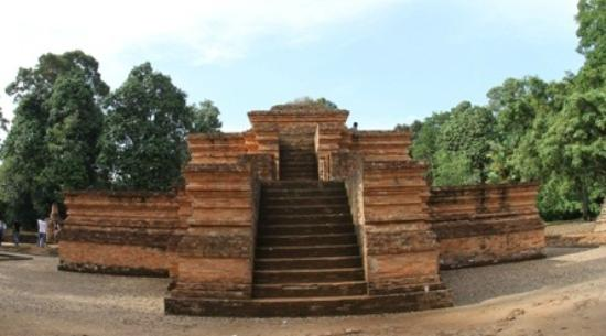 One of Jambi's ancient temples